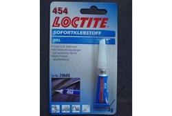 Loctite 454 Клей моментального отверждения, гель (3 г) - фото 64802
