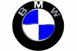 Эмблема на капот BMW (Б) (83мм) - фото 69280