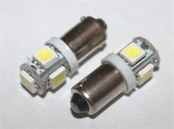 Лампа диодная белая (4w) (5 диодов) - фото 69402