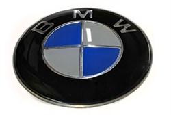 Наклейка-шильдик BMW в руль - фото 69823