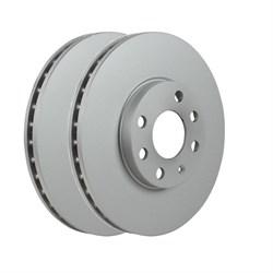 Ate Диск тормозной передний OPEL Astra 1.4/1.6 (2шт.)  24.0125-0198.1 - фото 70586