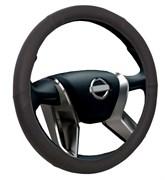 Voin Combo Чехол на руль накладной черный M (экокожа)  oplv0601