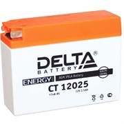 Delta АКБ для мотоциклов залит. 12V 2.5Ah  YT4B-BS   ct12025