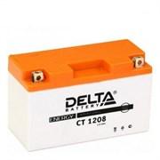 Delta АКБ для мотоциклов залит. 12V 8Ah  YT7B-BS,YT7B-4   ct1208