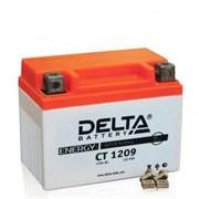 Delta АКБ для мотоциклов залит. 12V 9Ah  YTX9-BS   ct1209