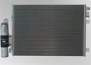 Радиатор кондиционера Logan с осушителем   6001550660