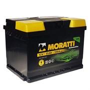 Moratti АКБ залитая прямой полярности 55Ah (555065055)