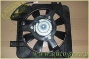 Электровентилятор охлаждения двигателя с кожухом в сборе 2110-12