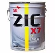Zic X7 Ls 5W30 Масло моторное синтетическое (20л)  192619