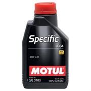Motul Specific Ll-04 5W40 Масло моторное синтетическое (1л)  101272