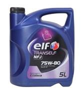 Elf Tranself Nfj 75W80 Масло трансмиссионное GL4+  5л   194756