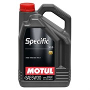 Motul Specific 913d 5W30 Масло моторное синтетическое (5л)  104560