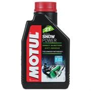 Motul Snowpower 2t Масло минеральное 2-х тактное (1л)  106599