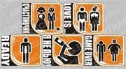 Арт Рейсинг 2-291 Наклейка Увлечения  140x110