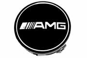 Заглушки для диска штатный размер AMG (4шт)