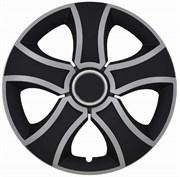 Бис Ринг Микс Колпак декоративный R15 (черный)(4 шт)