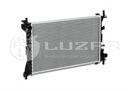 Luzar Lrc01182b Радиатор алюмин. 1118 Калина (с кондиц.Panasonic)