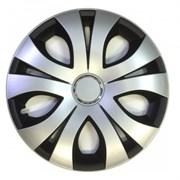 Топ Ринг Микс Колпак декоративный черный R17 (4 шт)
