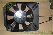 Электровентилятор охлаждения двигателя с кожухом в сборе 2103-07
