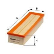 Hengst Фильтр воздушный MB W140  6.0   e167l
