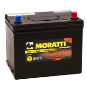 Moratti Asia АКБ залитая обратной полярности 75Ah (на ином)(80D26L)  575029063