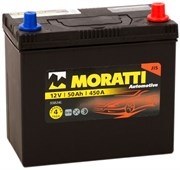 Moratti Asia АКБ залитая обратной полярности 50Ah (на ином)(55B24L)  550023/084033