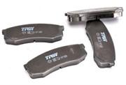 Trw Колодки тормозные задние  gdb1182