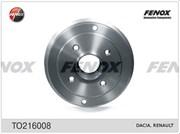 Fenox Барабан тормозной(180 мм)  to216008