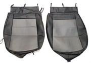 Favorit Чехлы сидений экокожа SKODA Octavia A7 (черно-серый)