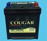 Cougar Smf Asia АКБ залитая обратной полярности 50Ah (50D20L)