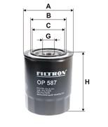 Filtron Фильтр масляный  op587