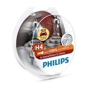 Philips 12342xvg Набор ламп галогеновых 60w55+130%  H4   12342xvgs2