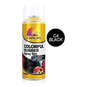 Carlas Жидкая резина (черная глянцевая)(400мл)(G4)(аэрозоль)
