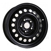 Trebl X40009 Диск колесный R16  6.5J, 5x114.3, 67.1,ET41   черный   9284722