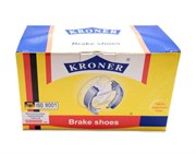 Kroner K001201 Колодки тормозные задние (к-т 4шт) 2101-07, 2121, 213